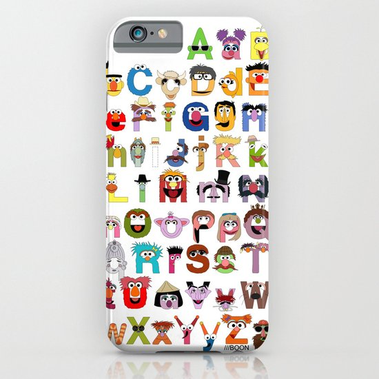Sesame Street Alphabet iPhone & iPod Case