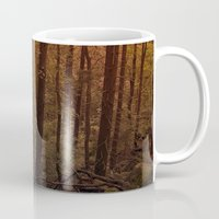 poland Mugs featuring Forest in Poland by vikfdz