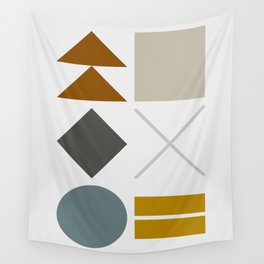 Mid West Geometric 03 Wall Tapestry