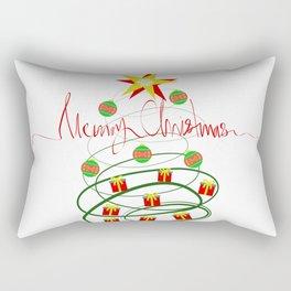 Christmas tree Rectangular Pillow