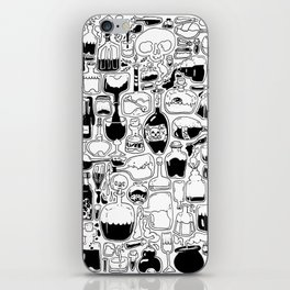 Potions, Poison, and Spirits iPhone Skin