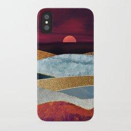 Crimson Sky iPhone Case
