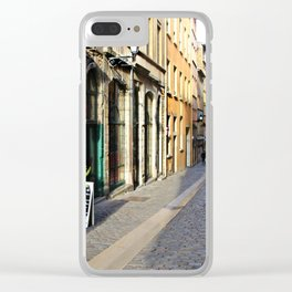 French Street Clear iPhone Case