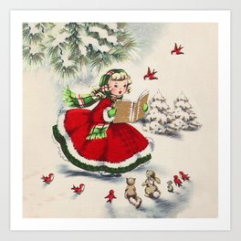 Christmas Images To Print.Christmas Carols Art Prints Society6