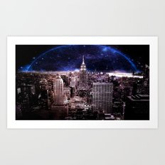 New York City : Parallel Dimension Art Print