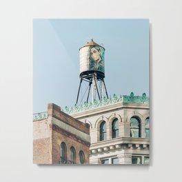 Water Tower, Nolita Metal Print
