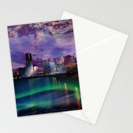 Surreal Cityscape Stationery Cards