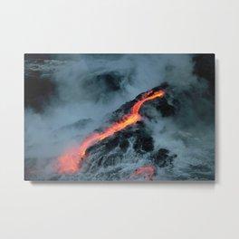 Lava Road Metal Print