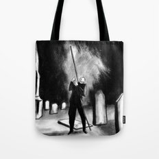 Lightning Rod Impales The Soul  Tote Bag