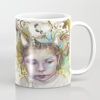 creativity Mugs featuring Creativity by busymockingbird