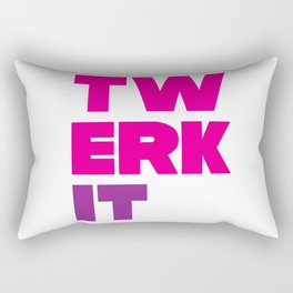 Twerk It Rectangular Pillow