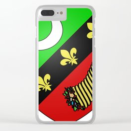 Saïda_Coat of Arms_(French_Algeria) Clear iPhone Case