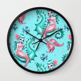 Mysterious Mermaid Wall Clock