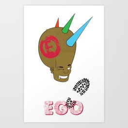 EGO Liberty Spikes Art Print
