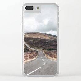 Cairngorms national park view Clear iPhone Case