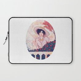 Gina in the garden Laptop Sleeve