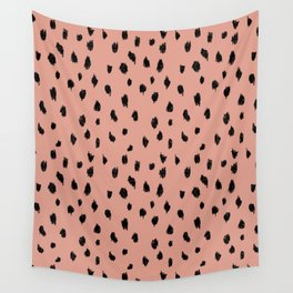 Seeing Spots in Smoked Salmon Wall Tapestry