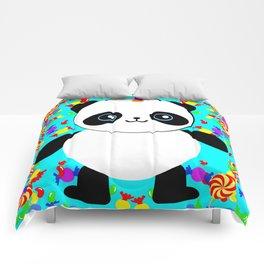 Pandacorn Candy Comforters