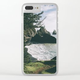 Samuel H. Boardman II Clear iPhone Case