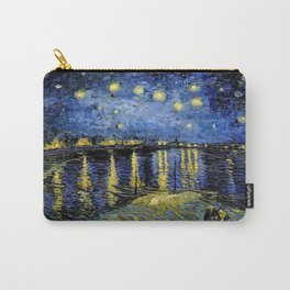 Vincent Van Gogh Starry Night Carry-All Pouch