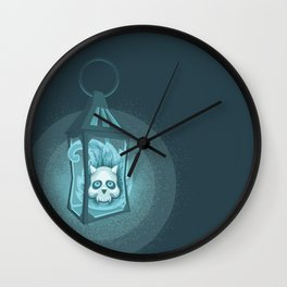 Will-o'-the-wisp Wall Clock