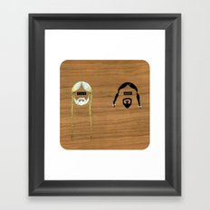 Willie & Snoop Framed Art Print
