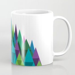 Jewel Toned Mountain Range Coffee Mug