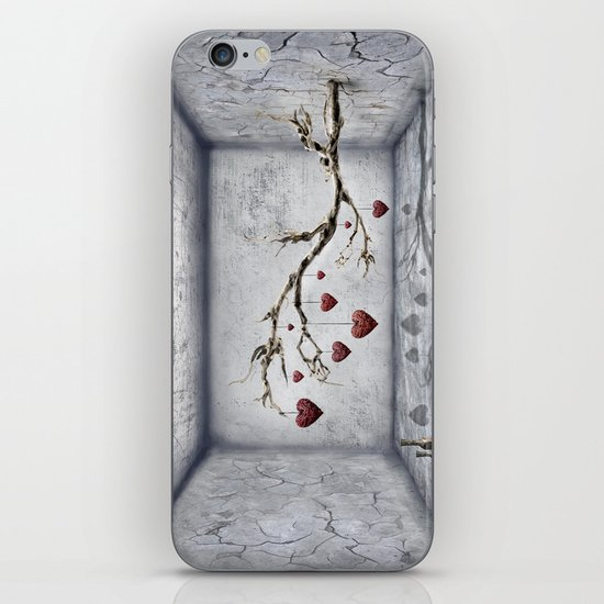 Der alte Liebesbaum  iPhone & iPod Skin