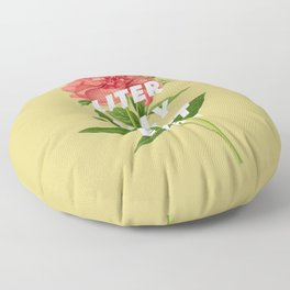 Literally Can't Even Floor Pillow