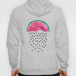 Watermelon Rain Hoody