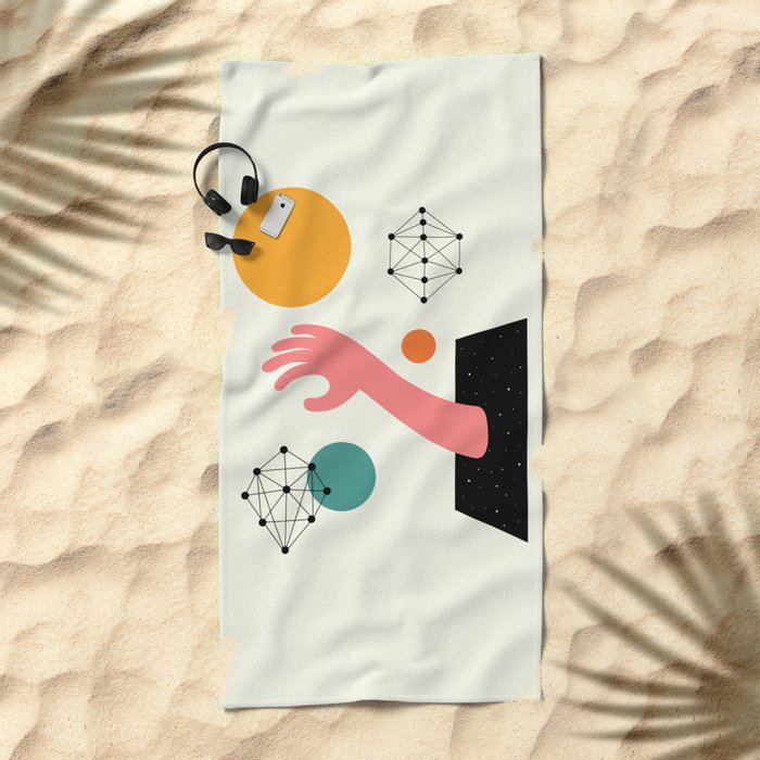 Searching Beach Towel