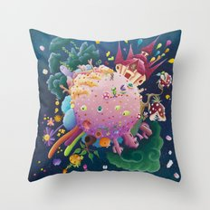 Games in orbite Throw Pillow