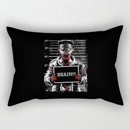 Zombie Mugshot Rectangular Pillow