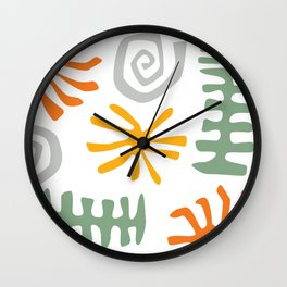 Coral Reef 01 Wall Clock