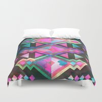 dream catcher Duvet Covers featuring Dream Catcher by Schatzi Brown