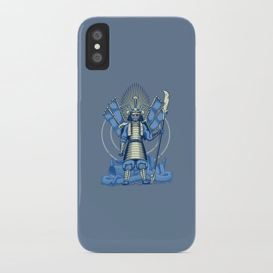 Samurai Nightmare iPhone Case