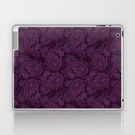 Meredith Paisley - Purple Laptop & iPad Skin