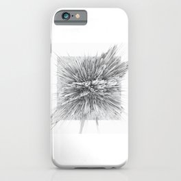 BIG BANG -Abstract Space- Black and White iPhone Case