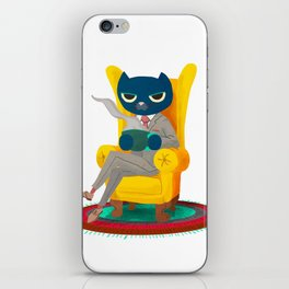 Welcome. Meow. iPhone Skin