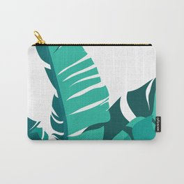 Tropical leafs Carry-All Pouch