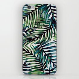 Palm Leaves Abstract iPhone Skin
