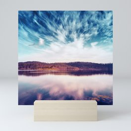 When the Sky Touched the Earth Mini Art Print