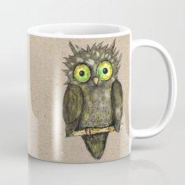 Black little owl Coffee Mug