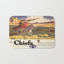 Vintage poster - The Chiefs Bath Mat