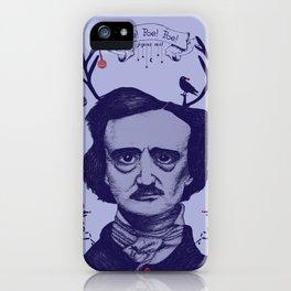 Poe! Poe! Poe! Joyeux Noël! iPhone Case