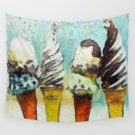 Ice Creams Wall Tapestry