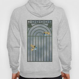 Mechanical birds Hoody
