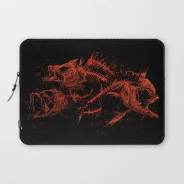 red fishes Laptop Sleeve