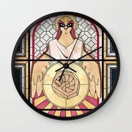 Pray the Helix Wall Clock