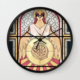 Pray the Helix Wall Clock